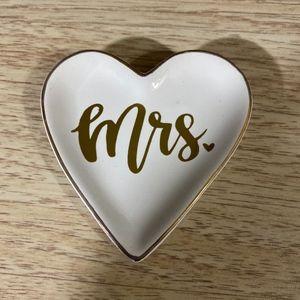 Wear Shaped Wedding Ring Dish